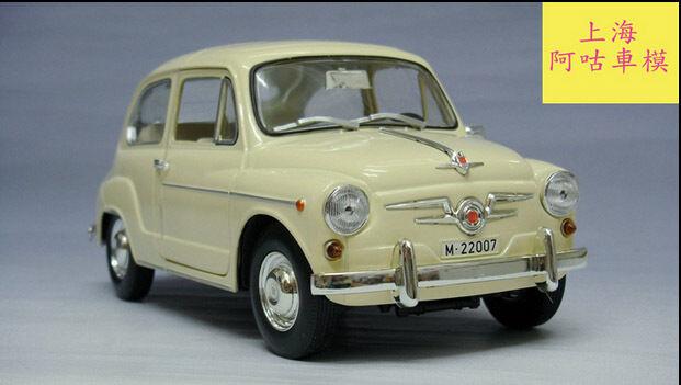 1 18 Revell Fiat 600D Die Cast Model