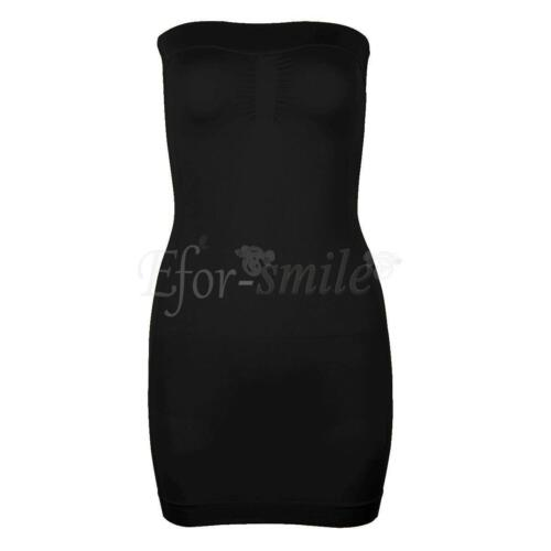 Womens Full Body Shaper Control Slim Tummy Corset Shapewear Mini Dress S-3XL