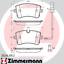 Zimmermann Bremsscheiben 300mm Beläge Hinten AUDI A6 A7 4G C7