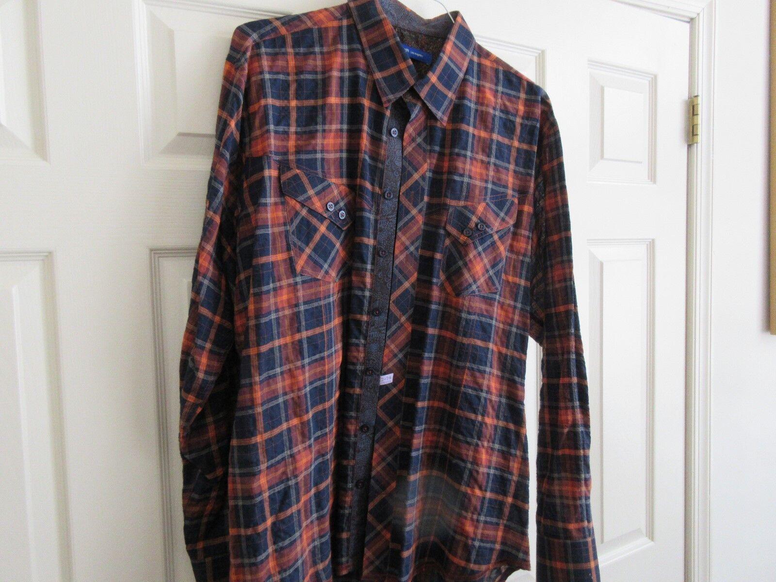 George Roth ,Los Angeles ,Men's Long Sleeve Shirt ,XXL