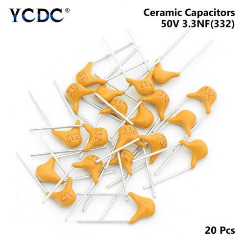 50V Multicouche Condensateurs Céramiques MLCC Set Kit Assorti 5.08mm 32 valeurs