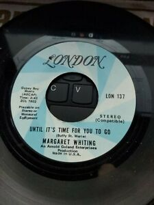 MARGARET-WHITING-Until-It-039-s-Time-For-You-To-Go-7-034-VINYL-USA-London-1970-EX