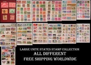 Large-amp-All-Different-Stamp-Collection-From-United-States-With-Many-Old-Stamps