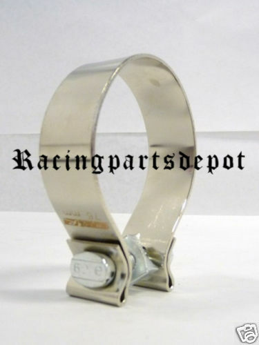 """OBX Heavy Duty Exhaust Muffler Clamps Clamp 4/"""""""