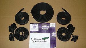 Weatherstrip-Kit-5pc-Door-Roofrail-Trunk-68-Chevelle-GTO-Cutlass-Skylark-2-Door