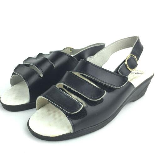 Echt Worishofer Furbett Womens US 7 Black Leather