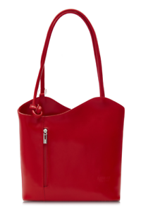new-ladies-evening-casual-Italian-leather-large-knot-handle-tote-shoulder-bag
