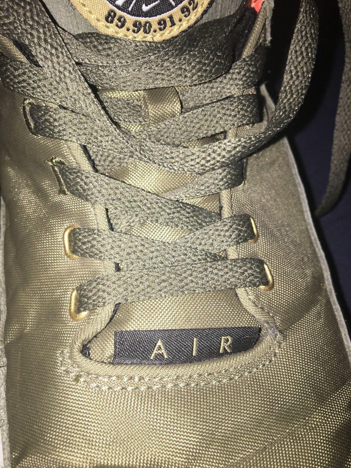 finest selection feead 23996 ... Nike 1315 Flight Flight Flight Squad 89.90.91.92 Mens shoes Sz 12 Olive  Green Used ...