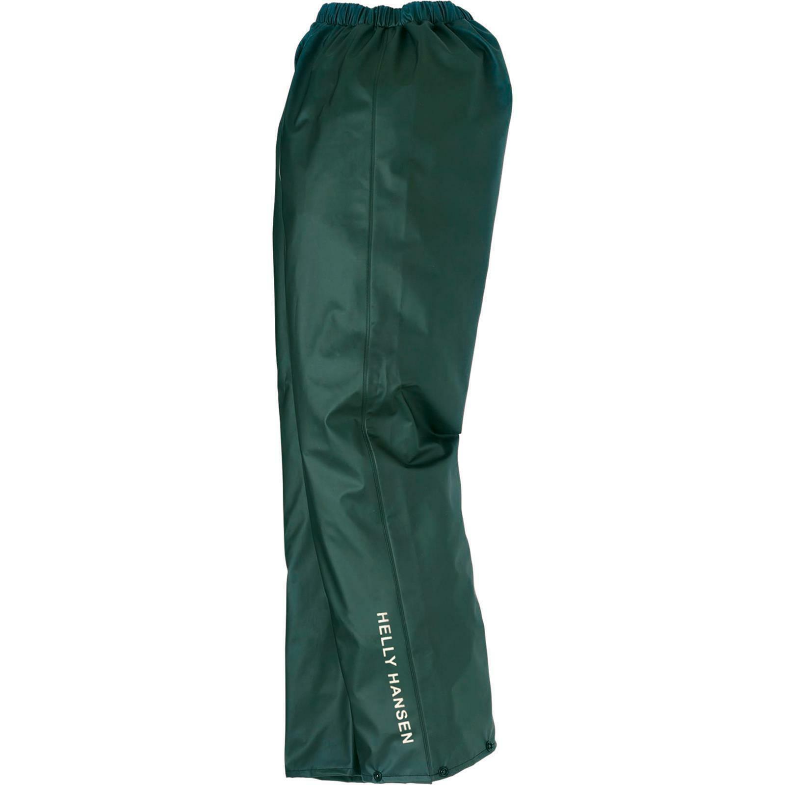 HH Voss Regenhose dunkelgrün Gr. XXL
