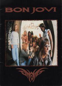 BON-JOVI-RICHIE-SAMBORA-1995-THESE-DAYS-WORLD-TOUR-CONCERT-PROGRAM-BOOK