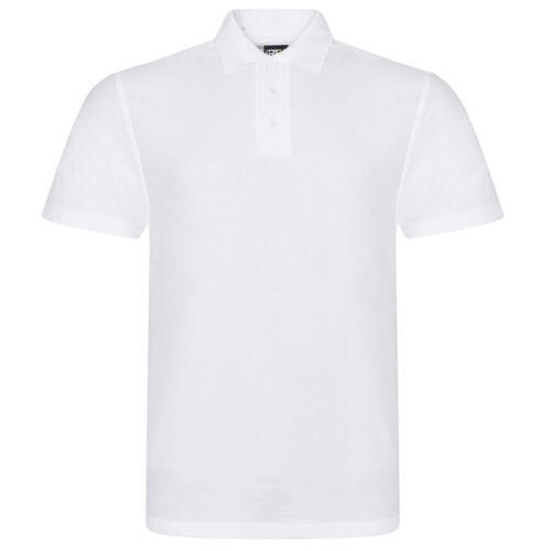 3XL Big Tall Mens Plain White Short Sleeve Polo Shirt 2XL 7XL 5XL 6XL 4XL