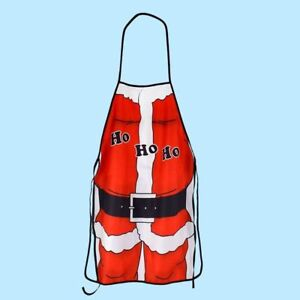 Adult-Men-Women-Santa-Claus-Kitchen-Cooking-Apron-Funny-Christmas-Party-Decor