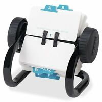 Rolodex 66700 Rolodex Open Rotary Card File, 250 1-3/4 X 3 1/4 Cards, 24 Guides, on sale