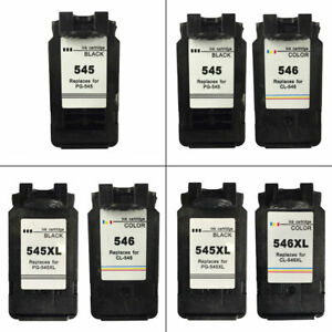 Canon-PG545-PG545XL-CL546-CL546XL-Refilled-Ink-Cartridges-For-PIXMA-MG2450