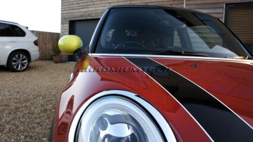 MINI Cooper//S//ONE R55 R56 R57 R58 R59 R60 YELLOW MIRROR Cap Covers Manual Fold