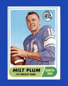 1968 Topps Set Break #104 Milt Plum NR-MINT *GMCARDS*
