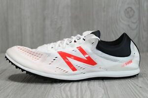 Details about 48 New Balance LD5000 V5 Track Spikes White Running Shoes Men Size 11.5 D US