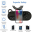 thumbnail 4 - 4IN1 Wireless Charger Stand Charging Dock Station For iPhone 13 Pro Apple Watch