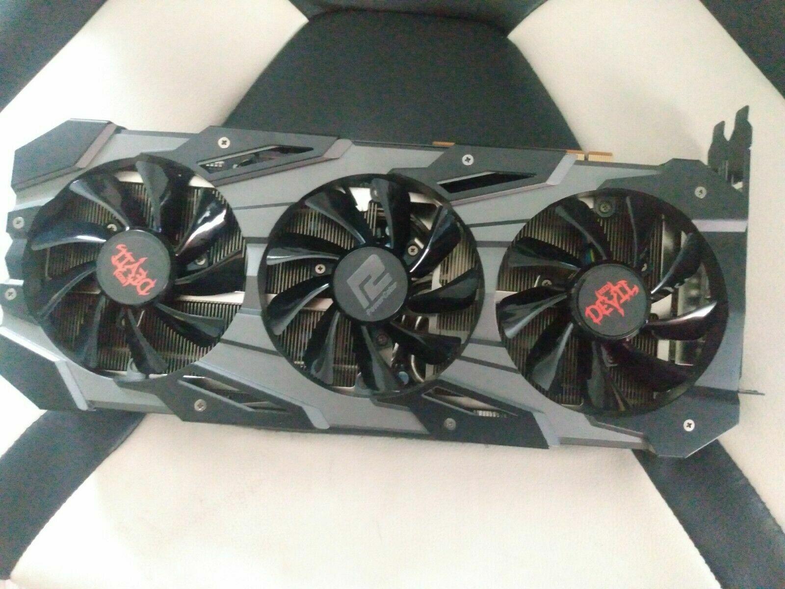PowerColor Red Devil AMD Radeon RX 5700 XT 8GB GDDR6 Graphics Card .