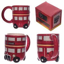 London Bus Mug Routemaster Mug Coffee Tea Mug Novelty Gift Red Bus Mug