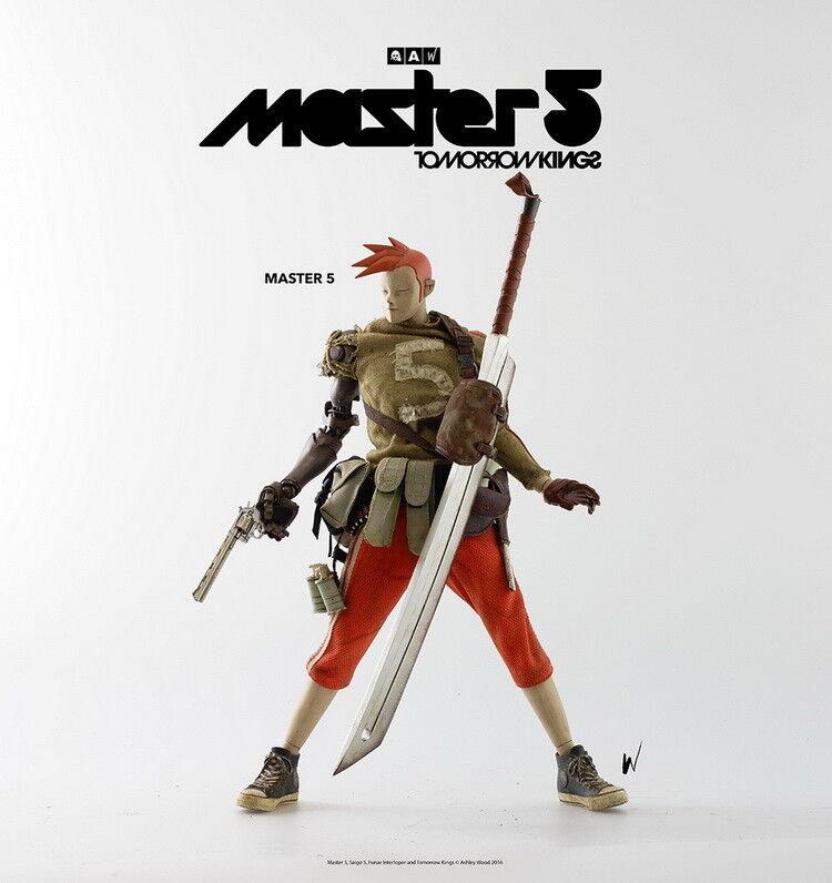 ThreeA 3A mañana Reyes mañana Rey Popbot Master 5 1 6th Escala Figura De Colección