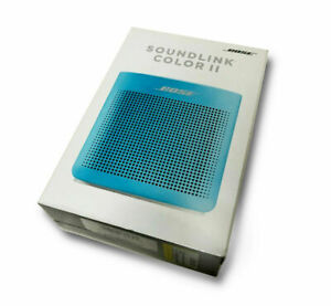 BOSE-SOUNDLINK-COLOR-BLUETOOTH-SPEAKER-II-AQUATIC-BLUE-NEW-SEALED-752195-0500