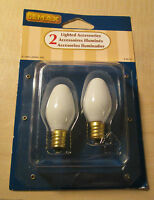 Christmas Lemax Accessories Light Bulbs Package Of 2 Nip