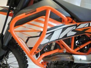 KTM-690-Enduro-R-Sturzbuegel-oben-orange-2008-Schutzbuegel-Crashbar-Motorschutz