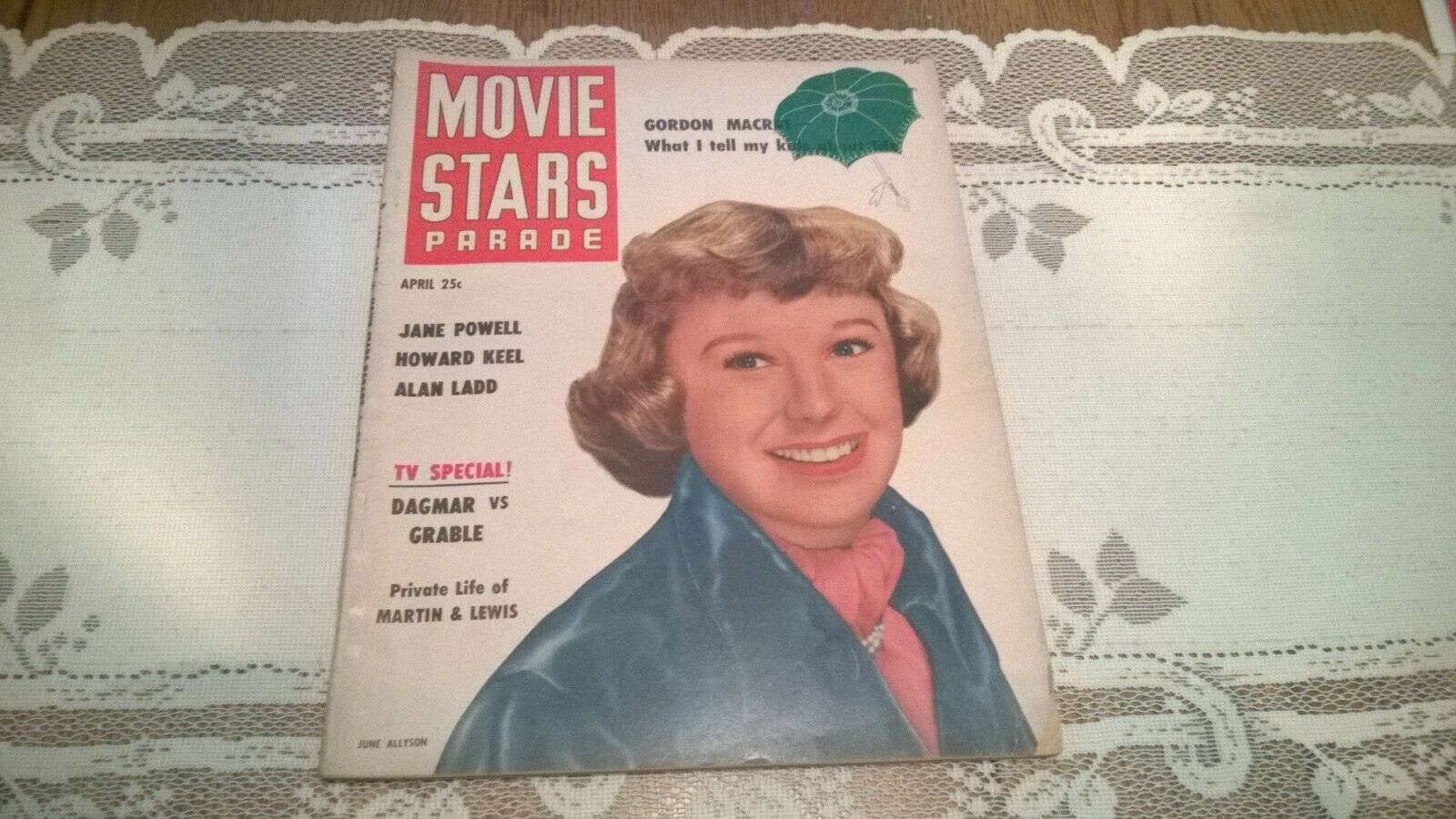 MOVIE STARS PARADE magazine APRIL 1951 2
