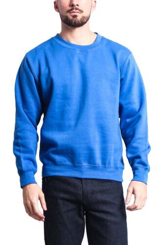 New Men/'s Premium Basic Solid Sweater Crewneck Sweatshirt-13126