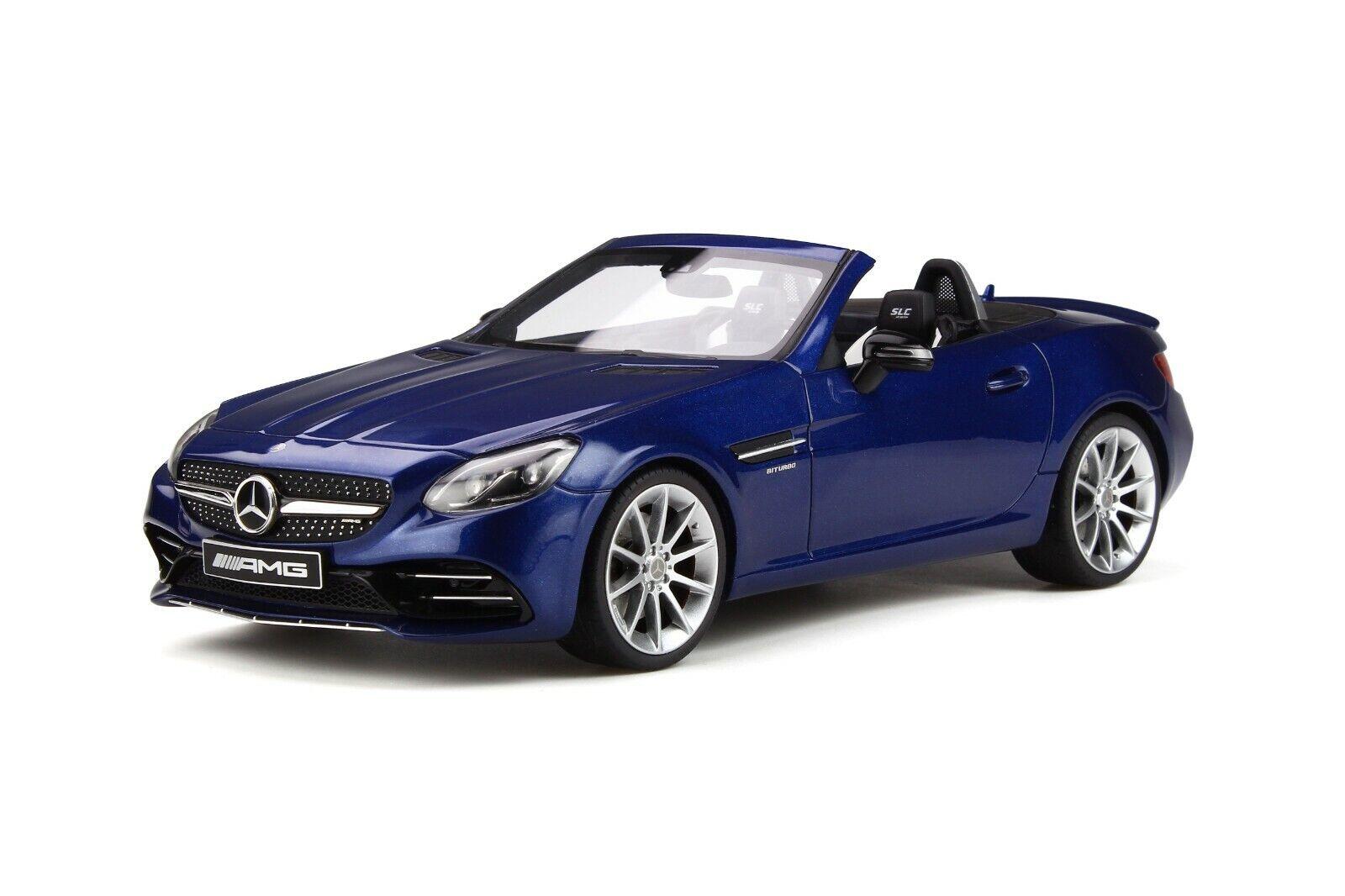 Mercedes-Benz AMG SLC 43 stradaster R172 V6 biturbo Brilliant blu blu blu GT Spirit GT233 356af5