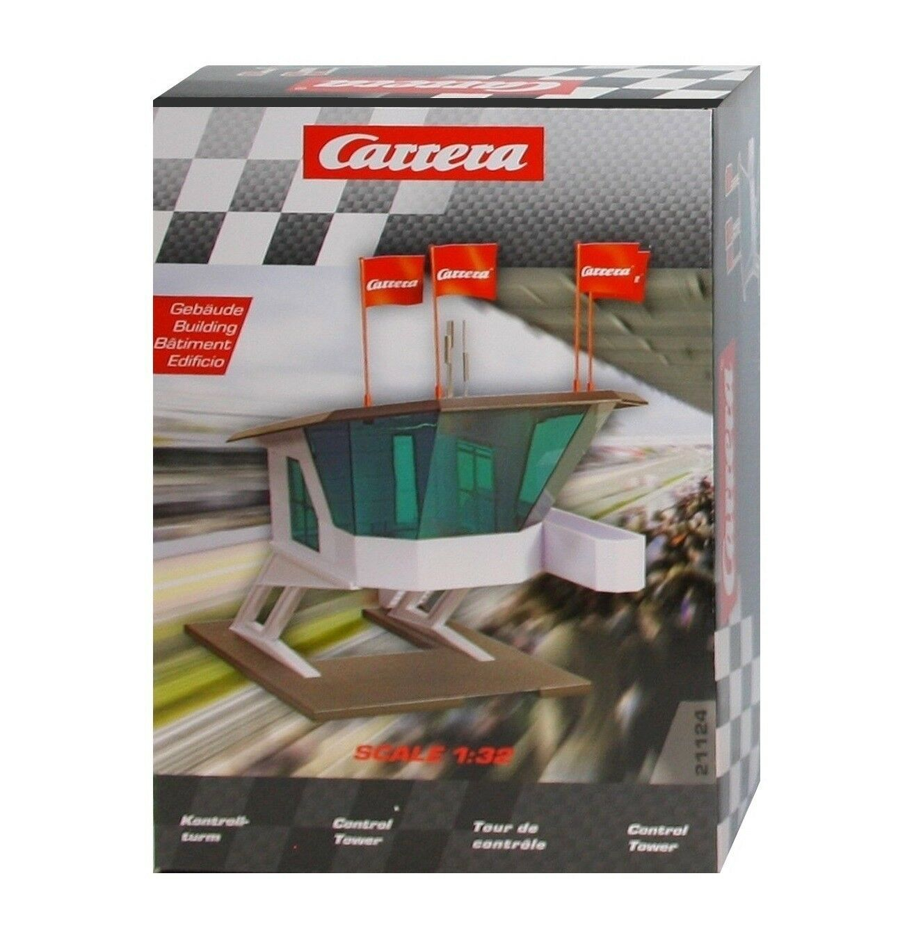 Carrera 21124 Control Tower 1 3 2 - NIP