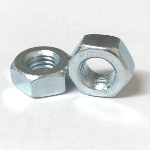 UNC Complet écrou Zinc Plaqué Imperial Hexagone Hex Nuts Grade 8.8