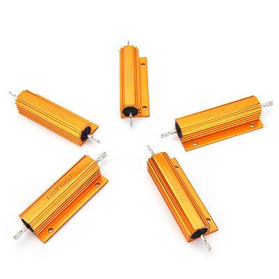 100WHochlast Widerstand ALU Kühlkörper Leistungswiderstand 1R//2R//4R//8R//10R Ohm.