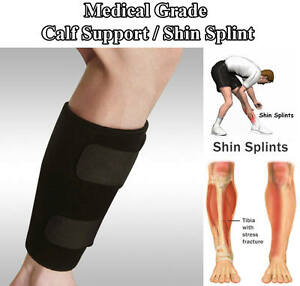 34f15f135ceead Image is loading Calf-Compression-Brace-Shin-Splint-Sleeve-Support-Lower-
