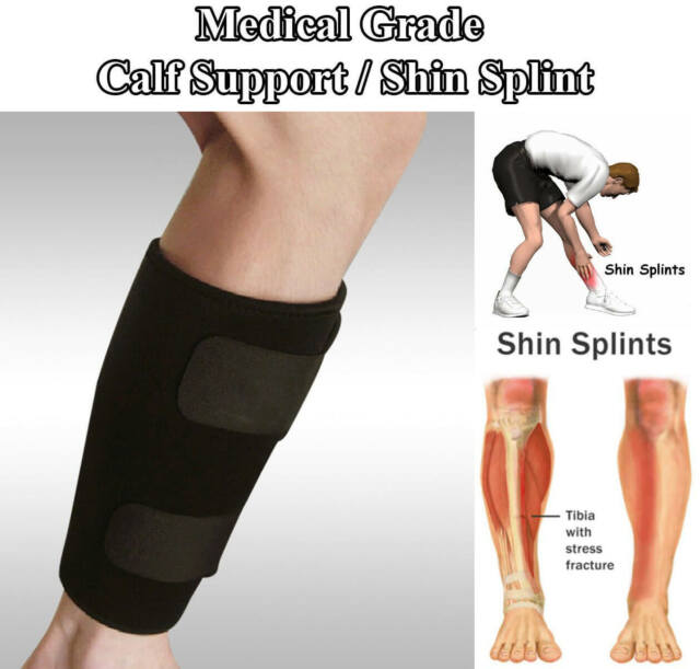 Calf Compression Brace Shin Splint Sleeve Support Lower Leg Wrap Muscle Pain