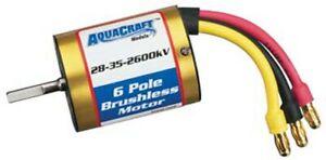 Aqua-Craft-Brushless-In-Runner-Marine-Motor-28-35-2600kV-AQUG7006-AquaCraft