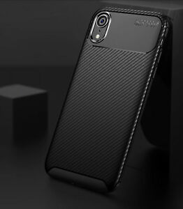 Case-for-iPhone-Carbon-Fibre-Soft-Cover-TPU-Silicone-Slim-11-X-XR-Max-8-7-6-Plus