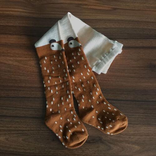 Baby Kids Girls Lovely Cotton Fox Tights Socks Stockings Pants Hosiery Pantyhose