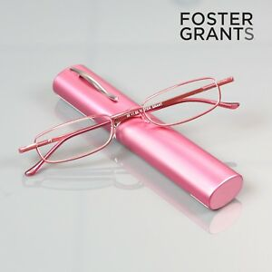 d38ff94383 Genuine Foster Grant Reading Folders + 1.50 Compact Travel Readers ...