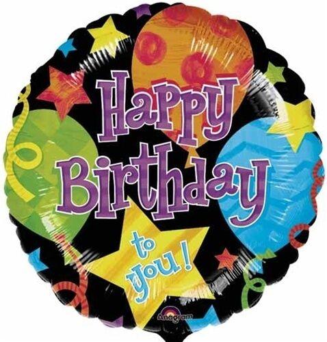 18 Jubilee Anniversary Mylar Balloon