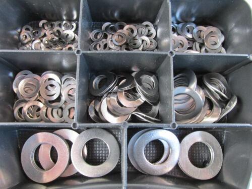 400 en acier inoxydable Ressort vitres Assortiment Box DIN 137 v2a Modélisme
