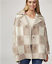 Marlawynne Coat 50 Bnwt £ Blend Rrp Graphic Wool Latte Plaid 226 Large awHnqaIPRr