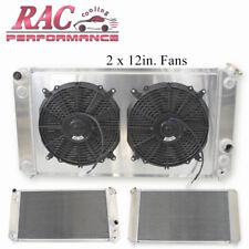 3 Row Aluminum Radiator Shroud Fan For 1996 2005 Chevy S10 Blazer Gmc Jimmy 43l