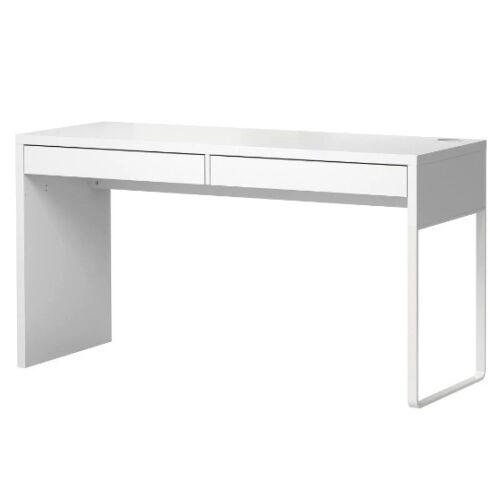 Bürotisch Tisch weiß NEU IKEA MICKE Schreibtisch Computertisch 142x50cm