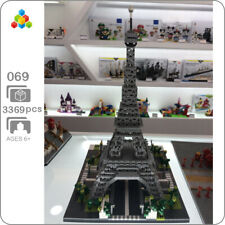 YZ Architecture Pyramids Egypt Gold Tower Mini Diamond Building Nano Blocks Toy