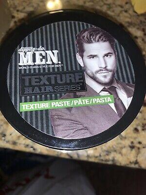 Dippity Do Men Texture Paste Mens Hair Styling Pomade 6 3 Oz For Sale Online Ebay