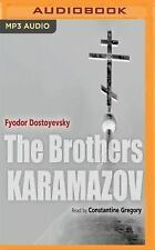 The Brothers Karamazov by Fyodor Dostoevsky (2016, MP3 CD, Unabridged)