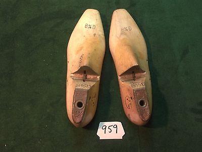VINTAGE PAIR 1954 Wood Size 11-1//2 C WOODRIGHT G392 Shoe Factory Lasts #D-36