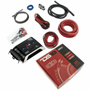 CONNECTION by HERTZ FPK 700.1 BPK 700W COMPETITION 4 GAUGE AMP POWER INSTALL KIT